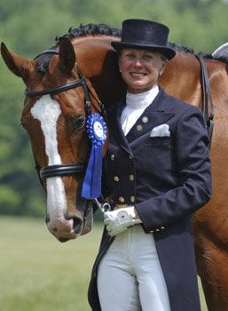 Blue Ribbon Dressage Horse photo by Bob Tarr
