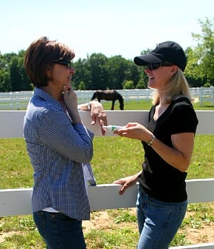 Horse women talking about Succeed