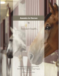 Anemia in Horses Ebook
