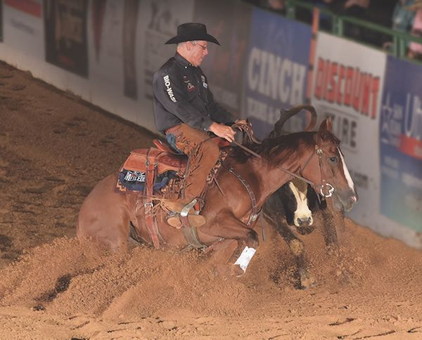 Ron Ralls Reined Cow Horse Competition