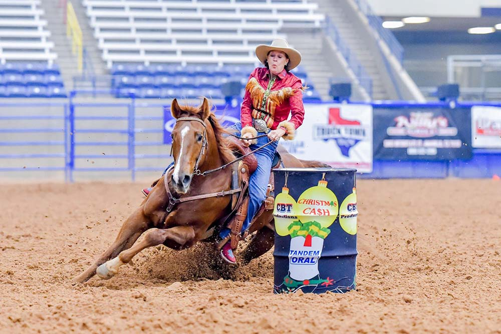 Riders face unique challenges on barrel racing track